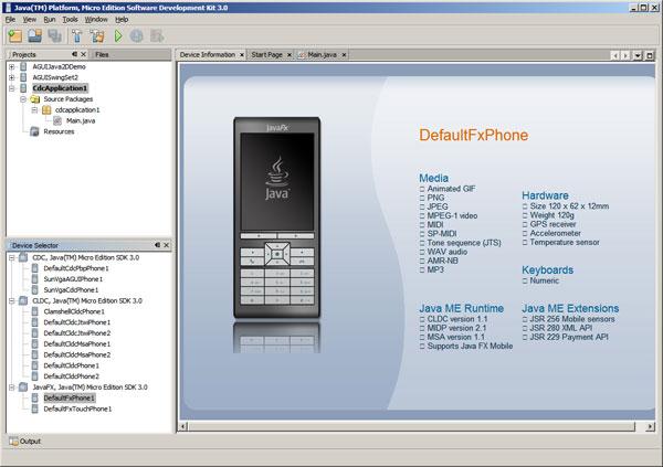Java ME SDK 3.0