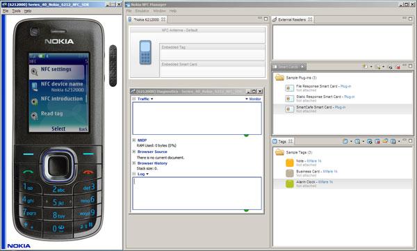 S40 Nokia 6212 NFC SDK