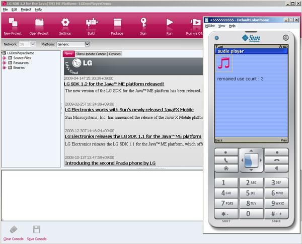 LG SDK 1.2 for Java ME