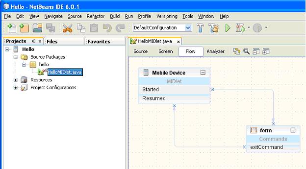 NetBeans Visual Designer