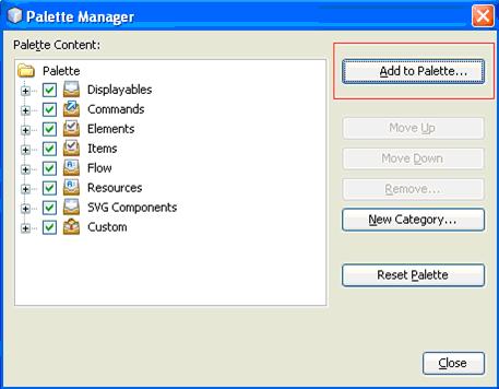 Palette Manager