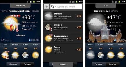 Gismeteo Weather Forecast