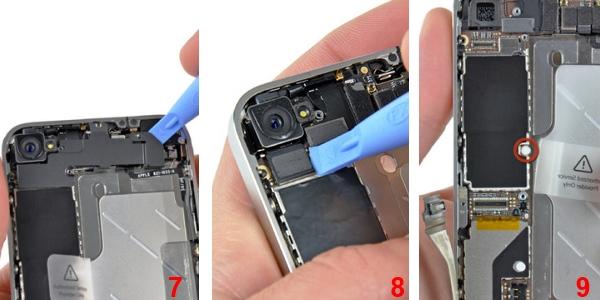 как разобрать iPhone 4