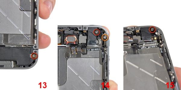 iPhone 4 замена кнопки