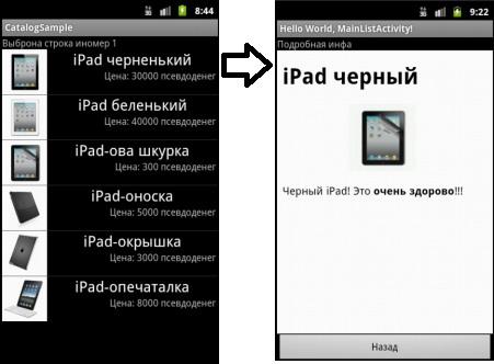 ListView в Android