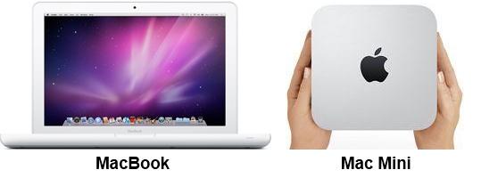 MacBook, Mac Mini