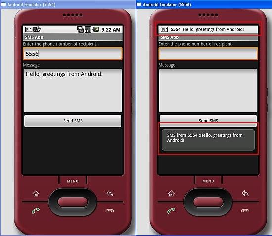 Получение sms в android